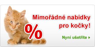 Mimořádné nabídky pro kočky