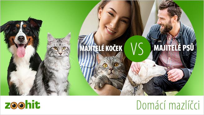 Majitelé psů versus majitelé koček