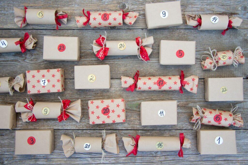 Adventní kalendář - balíčky