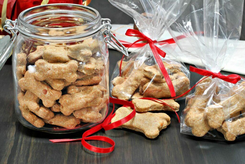 Adventní kalendář s domácími sušenkami pro psy